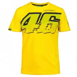 T SHIRT YELLOW VR 46 TAILLE S