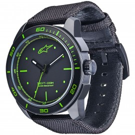 MONTRE ALPINESTARS 3H BLACK GREEN