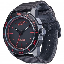 MONTRE ALPINESTARS 3H BLACK RED