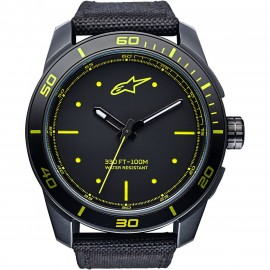 MONTRE ALPINESTARS 3H BLACK YELLOW