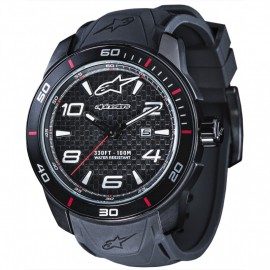 MONTRE ALPINESTARS 3H SILICON BLACK BLACK